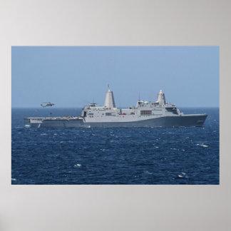 Green Bay de USS (LPD 20) Póster