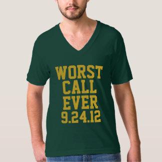 Green Bay Football: Worst Call Ever 9/24/12 T-Shirt