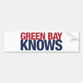 Green Bay Knows Bumper Sticker