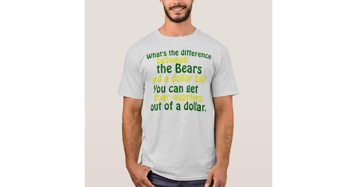 Green Bay Packer Rival T Shirt T Shirt Zazzle Com