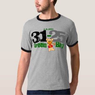 Green Bay Show Off The Score 31-25 T-Shirt