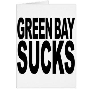Green Bay Sucks Card