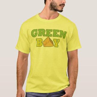 Green Bay T-Shirt-Yellow T-Shirt