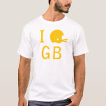 Green Bay - yellow T-Shirt