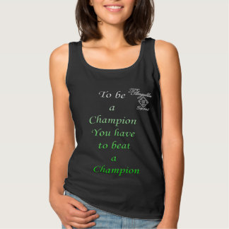 green be champion tank top