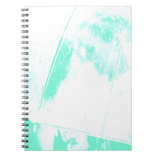 Green Beach Palm Notebook