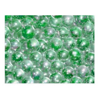 Green Beads Postcard