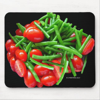 Green Bean and Tomatoes Mousepads