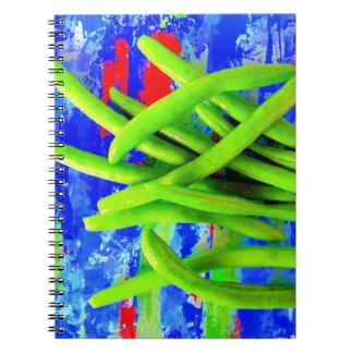 Green Bean Garden Notebook