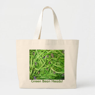 Green Bean Heads Tote Bag