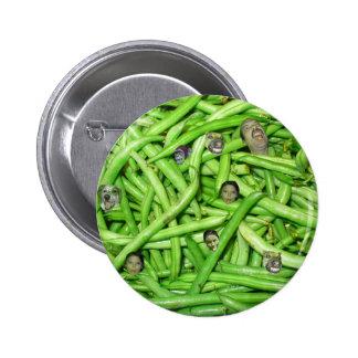 Green Bean Heads! Pin