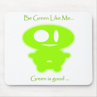 GREEN BEAN MOUSE PAD