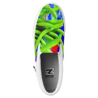 Green Bean Slip On Sneakers