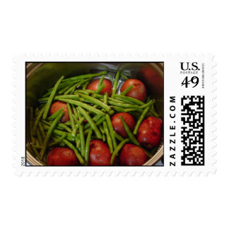 Green Beans and Red Potatoes Postage