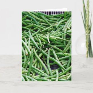 Green Beans card
