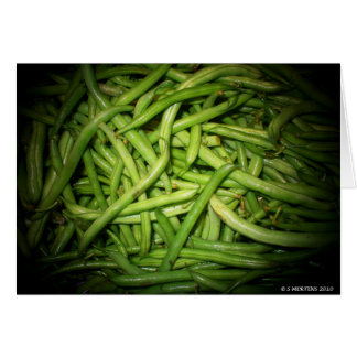 Green Beans in Spotlight Card