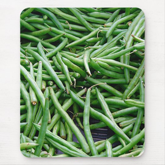Green Beans Mouse Pad