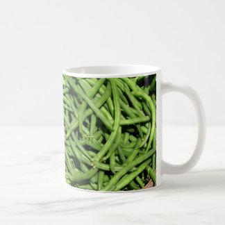 Green Beans Coffee Mugs