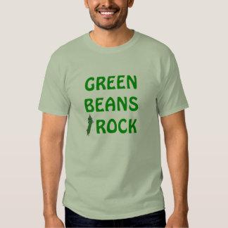 """""""Green Beans Rock"""" Vegetable Novelty Shirt"""