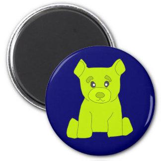 Green Bear Magnet
