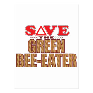 Green Bee-Eater Save Postcard