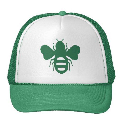 Green Bee Soda Hat
