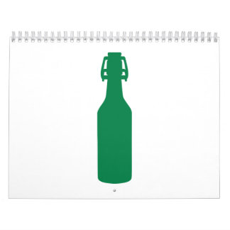 Green Beer Bottle Calendar