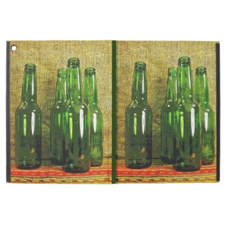 Green Beer Bottles iPad Pro Case