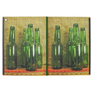 Green Beer Bottles iPad Pro Case