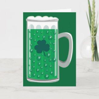 Green Beer card