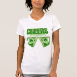 Green Beer Cheers T Shirts