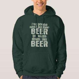 Green Beer Day Humor Hoodie