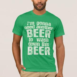Green Beer Day Irish Humor T-Shirt