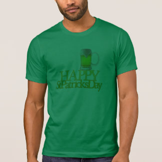 Green Beer Happy St. Patrick's Day Shirt