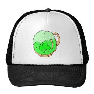 Green Beer Trucker Hats