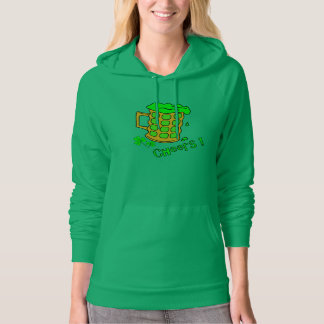 Green Beer Hoodie - Womens St Patricks Day Clothes