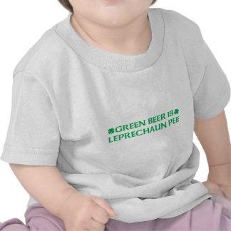 Green Beer Is Leprechaun Pee Tshirt