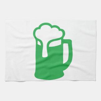 Green Beer Kitchen Towel
