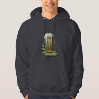 Green Beer Mug (add own text) Hoodie
