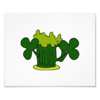 green beer mug clovers image.png photo