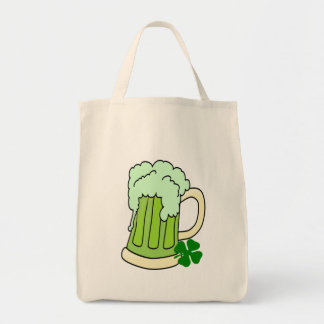 Green Beer Mugs Tote Bag