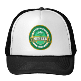 Green Beer Party Member Products Mesh Hats