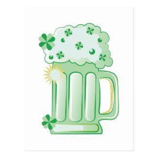 Green Beer Postcard