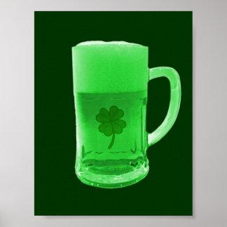 Green Beer Poster