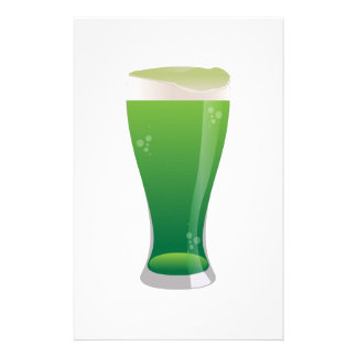 Green Beer Stationery