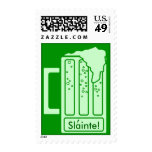 Green Beer Toast Health St. Patricks Day STAMPS