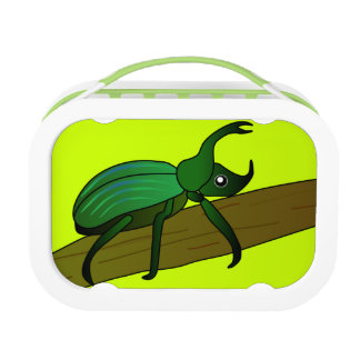 Green Beetle Lunchbox