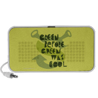 Green Before Green Was Cool Laptop Speaker