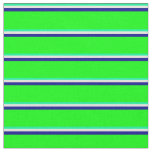 [ Thumbnail: Green, Beige, Dark Blue, and Lime Colored Pattern Fabric ]