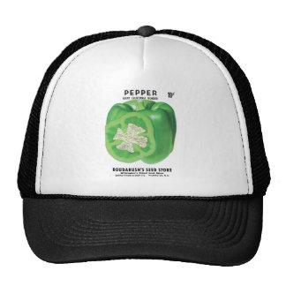 Green Bell Pepper Seed Packet Trucker Hat